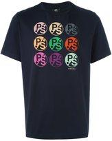 Paul Smith multi logo print T-shirt