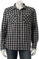 Levi's Men's Plaid Western Flannel Button-Down Shirt