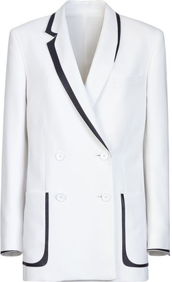 Fendi Contrast Piping Detail Blazer