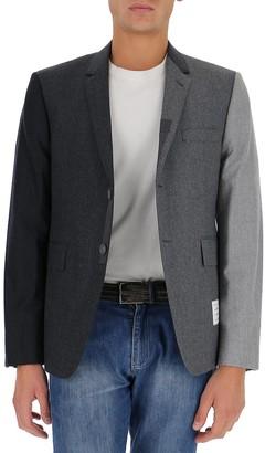 Thom Browne Funmix Super 120s Flannel Sport Jacket
