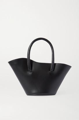 Little Liffner Tulip Micro Leather Tote - Black