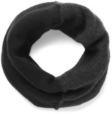 Isabel Benenato Panelled Merino Wool-blend Snood - Charcoal