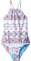 Seafolly Festival Surf Reversible Tank One-Piece Girl's Swimsuits One Piece
