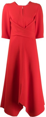 Schumacher Dorothee Sophisticated Perfection draped midi dress