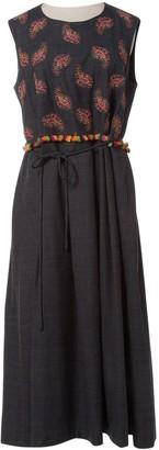 Manoush Grey Wool Dresses