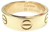 Cartier 18K Rose Gold Love Ring Size 5.25