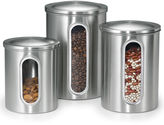Polder Inc. 3-pc. Stainless Steel Window Canisters