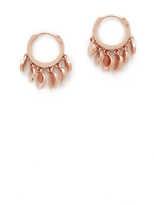 Jacquie Aiche Mini Disco Shaker Hoop Earrings
