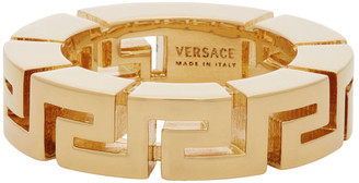 Versace Gold Meander Ring