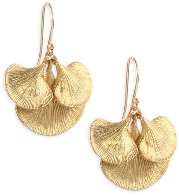 Annette Ferdinandsen Small Gingko Cluster Earrings