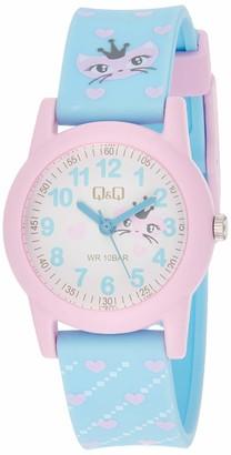 Citizen Unisex Child Analogue Quartz Watch with Resin Strap VR99J007Y