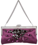 Devi Kroell Crystal-Embellished Satin Bag