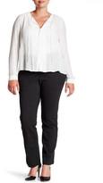 Susina Pindot Ponte Trouser (Plus Size)