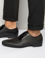 Aldo Biaggo Oxford Shoes In Black Leather