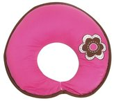 Bacati Damask Pink/Chocolate Nursing Pillow Cover