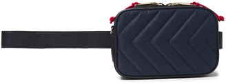 Sandro Convertible Quilted Leather Belt Bag