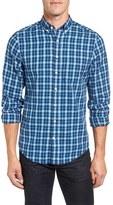 Gant Men's Extra Trim Fit Tartan Plaid Twill Sport Shirt