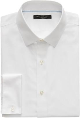 Banana Republic Slim-Fit Non-Iron Dress Shirt with French Cuffs