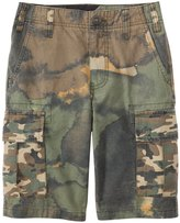 Volcom Boys' Slargo Cargo Mixed Camo Short (820) - 8118442