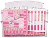 "Trend Lab Dr. Seuss ""Oh The Places You'll Go!"" 4-pc. Crib Bedding Set by Pink"