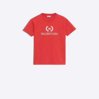 Balenciaga BB printed fitted t-shirt