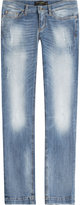 Dolce & Gabbana Faded Straight Leg Jeans