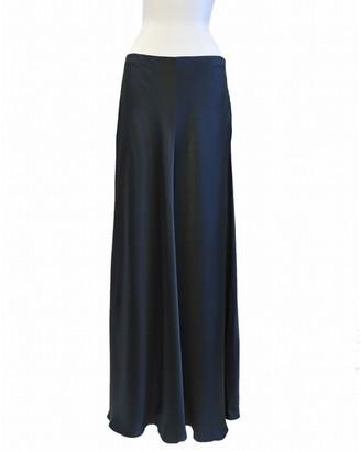 The Row Green Viscose Skirts