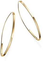 Bloomingdale's Endless Hoop Earrings in 14K Yellow Gold - 100% Exclusive