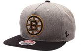 Zephyr Boston Bruins Boulevard Snapback Cap