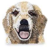 Mignonne Gavigan Beaded dog brooch - Golden Retriever