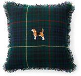Ralph Lauren Benny Tartan Wool Throw Pillow