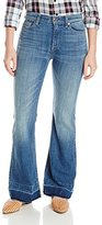 7 For All Mankind Women's Petite Tailorless Ginger with Released Hem- Short Inseam