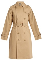 A.P.C. Julianne cotton trench coat