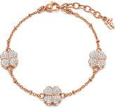 Folli Follie Heart4heart clover charm bracelet