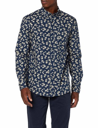 Farah Classic Men's Patterson Floral Print Casual Shirt