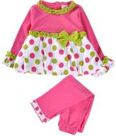 Little Spring LittleSpring Baby Girls' Pant Set Dot Bow