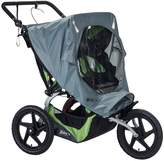 BOB Strollers 2016 Fixed Wheel Duallie Stroller Weather Shield