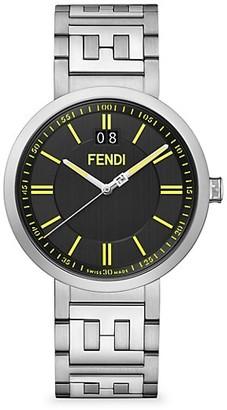 Fendi Timepieces Forever Fendi Stainless Steel Bracelet Watch