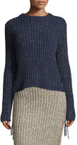 The Row Fenix Ribbed Cashmere Sweater