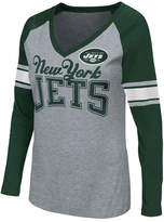G-iii Sports Women's New York Jets In the Zone Long Sleeve T-Shirt
