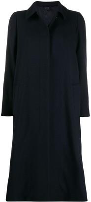 Aspesi boxy single-breasted coat