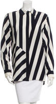 Stella McCartney Striped Silk Top w/ Tags