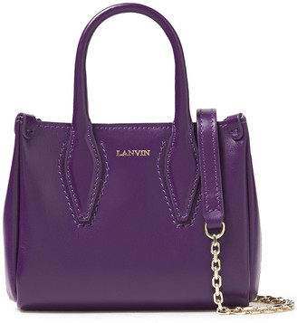 Lanvin Micro Journee Leather Tote