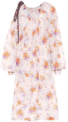 Dries Van Noten Floral-printed dress