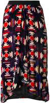 Isabel Marant Tursanne printed midi skirt