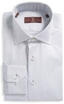 Robert Talbott Men's Estate Tailored Fit Solid Dress Shirt