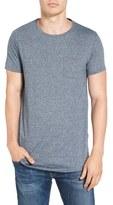 Scotch & Soda Men's Curved Hem Pocket T-Shirt
