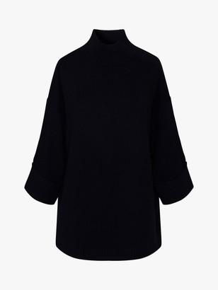 Gerard Darel Domenica Merino Wool Pullover Jumper, Navy