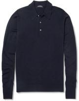 John Smedley Cotswold Merino Wool Polo Shirt