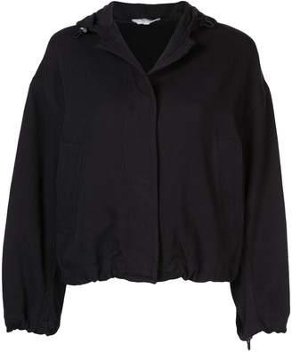 Vince concealed front bomber jacket